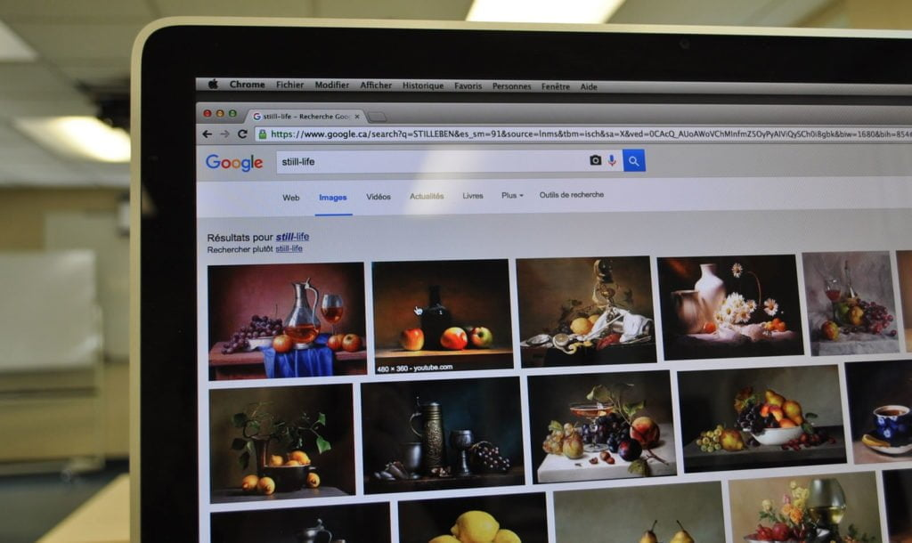 Posizionamento immagini su Google
