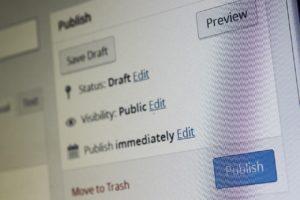 Pubblicazione dei contenuti on site o su landing page