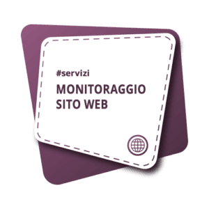 Monitoraggio sito web